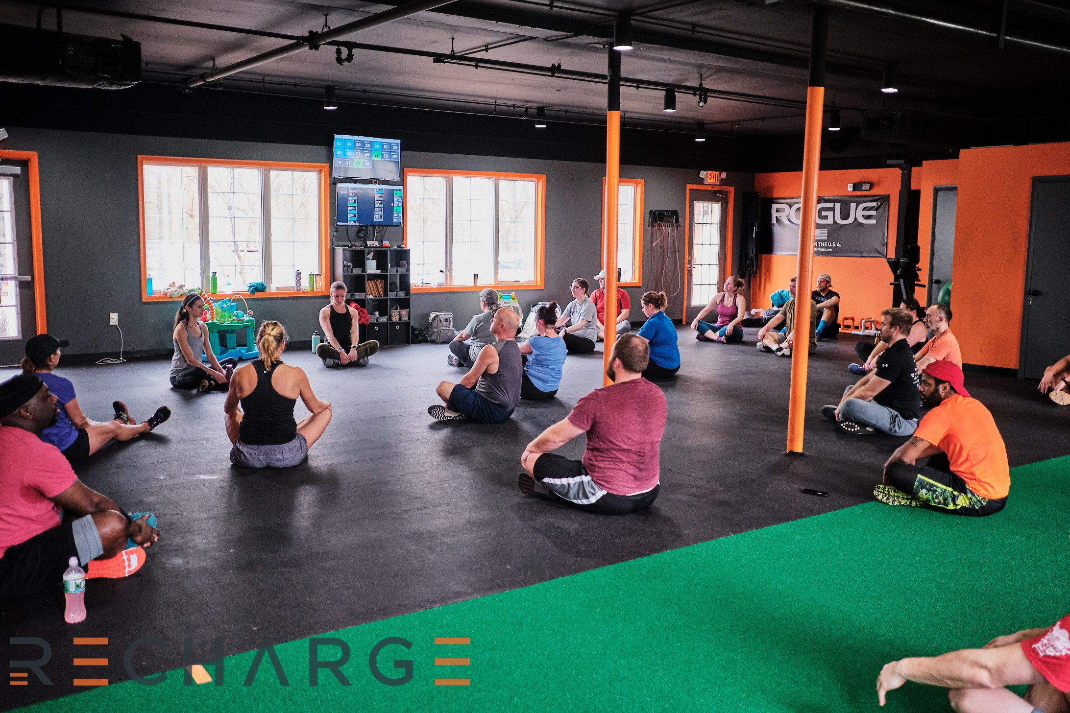 RECHARGE GYM, Physical therapy, postpartum health in ellicott city